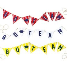 Go Team Football Banner, medium