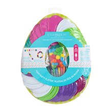 Easter Eggs Party Platter Foam Kit By Celebrate It