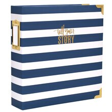 Heidi Swapp Storyline D-Ring Photo Album Kit, Watercolor Spine