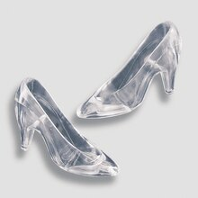High Heels Party Favor, Clear Displayed