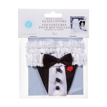 Victoria Lynn Bride and Groom Glass Covers Package