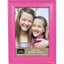 "Simply Essentials 5"" x 7"" Pink Scoop Frame By Studio Decor"