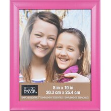 "Simply Essentials 8"" x 10"" Pink Scoop Frame By Studio Decor"