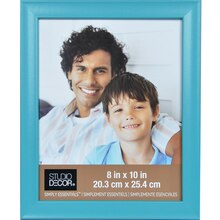 """Simply Essentials 8"""" x 10"""" Turquoise Scoop Frame By Studio Decor"""
