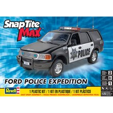Revell SnapTite Max Ford Expedition Police SSV Plastic Model Kit