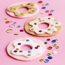 Kids' Felt Donuts, medium