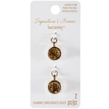 Signature Color Shop Gold Druzy Charms By Bead Landing