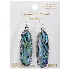 Signature Color Shop Abalone Earrings By Bead Landing