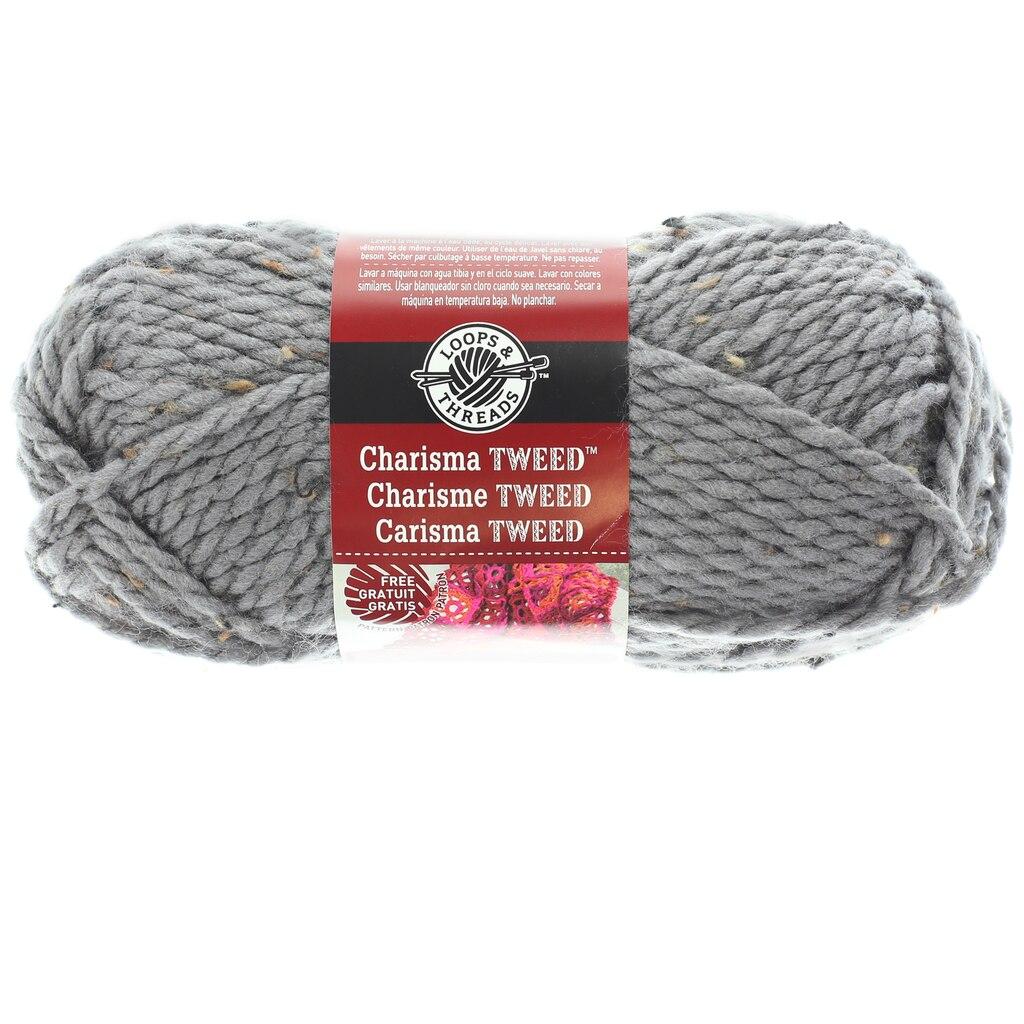 Charisma™ Tweed Yarn By Loops & Threads®