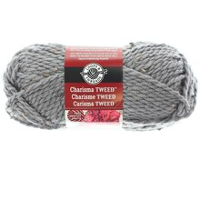 Charisma Tweed Yarn by Loops & Threads, Gray