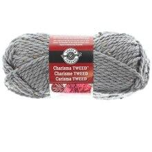 Charisma Tweed Yarn by Loops & Threads, Gray