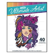RoseArt Ultimate Artist Coloring Pad Portfolio