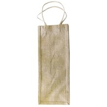 Burlap Wine Bag Pack of 2