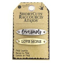 Blue Moon Beads ShortCuts Metal Connector Charms