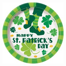 "9"" St. Patrick's Day Jig Party Plates, 8ct"