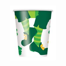 9oz St. Patrick's Day Jig Paper Cups, 8ct