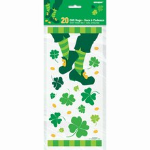 St. Patrick's Day Jig Cellophane Bags, 20ct Packaged