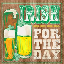 Irish For St. Patrick's Day Cocktail Napkins, 16ct