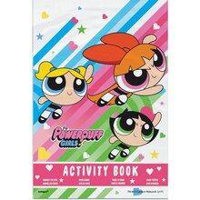 Powerpuff Girls Activity Book Party Favors, 4ct Front