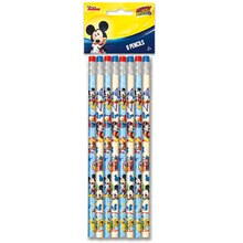 Mickey Mouse Pencils, 8ct