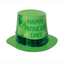 Paper St. Patrick's Day Top Hat