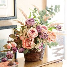 Natural Easter Mantel Floral Arrangement, medium