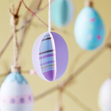 Spring Paper Egg Ornaments, medium