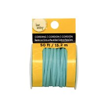 Turquoise Deerskin Lace Cording By Bead Landing Front