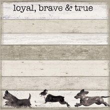 Loyal Dogs Scrapbook Paper By Recollections