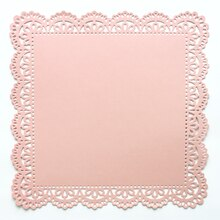Anna Griffin Die-Cut Lace Paper, Pink Shimmer