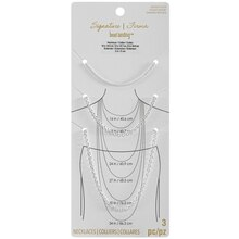 Signature Collection Silver-Plated Rope Chain Necklaces By Bead Landing
