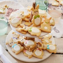 Easter Bunny Cookies, medium