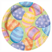 "7"" Spring Easter Party Plates, 8ct"