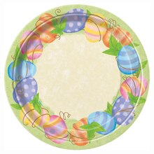 "9"" Spring Easter Party Plates, 8ct"