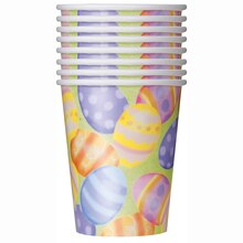 9oz Spring Easter Paper Cups, 8ct