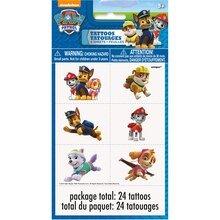 PAW Patrol Tattoos, 24ct