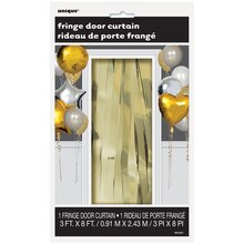 Foil Gold Fringe Door Curtain Package