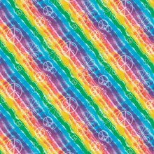 Rainbow Tie Dye Wrapping Paper