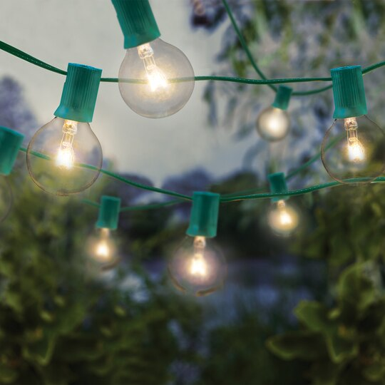 Shop For The Round G40 Bulb Light Set By Ashland™ At Michaels - Michaels Christmas Lights