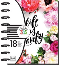 Create 365 The Medium Happy Planner, Market Floral Cover