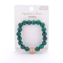 Signature Color Shop Malachite Beaded Bracelet By Bead Landing Package