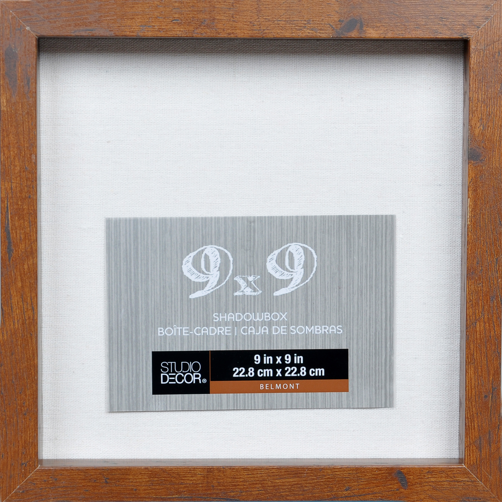 Honey 9  x 9  Belmont Shadowbox By Studio Décor  sc 1 st  Michaels & Shadow Boxes | Michaels Aboutintivar.Com
