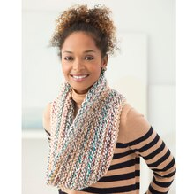 Lion Brand® Wool-Ease® Thick & Quick® Knit Hudson Cowl, medium