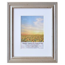 """Champagne Lifestyles Matted Frame By Studio Décor, 5"""" x 7"""""""