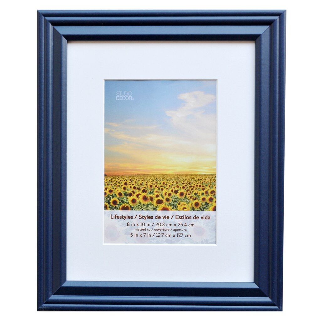 Buy The Indigo Frame 8 Quot X 10 Quot With 5 Quot X 7 Quot Mat
