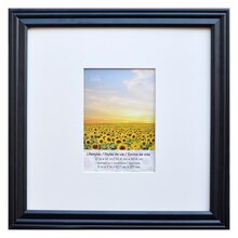 """Black Lifestyles Square Wall Frame By Studio Décor, 5"""" x 7"""""""