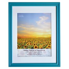 "Teal Lifestyles Wall Frame By Studio Décor, 11"" x 14"""