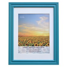 "Teal Lifestyles Wall Frame By Studio Décor, 8"" x 10"""
