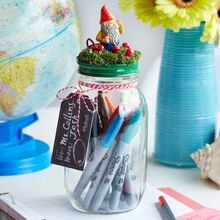 Teacher Appreciation Gift Card Mason Jar, medium
