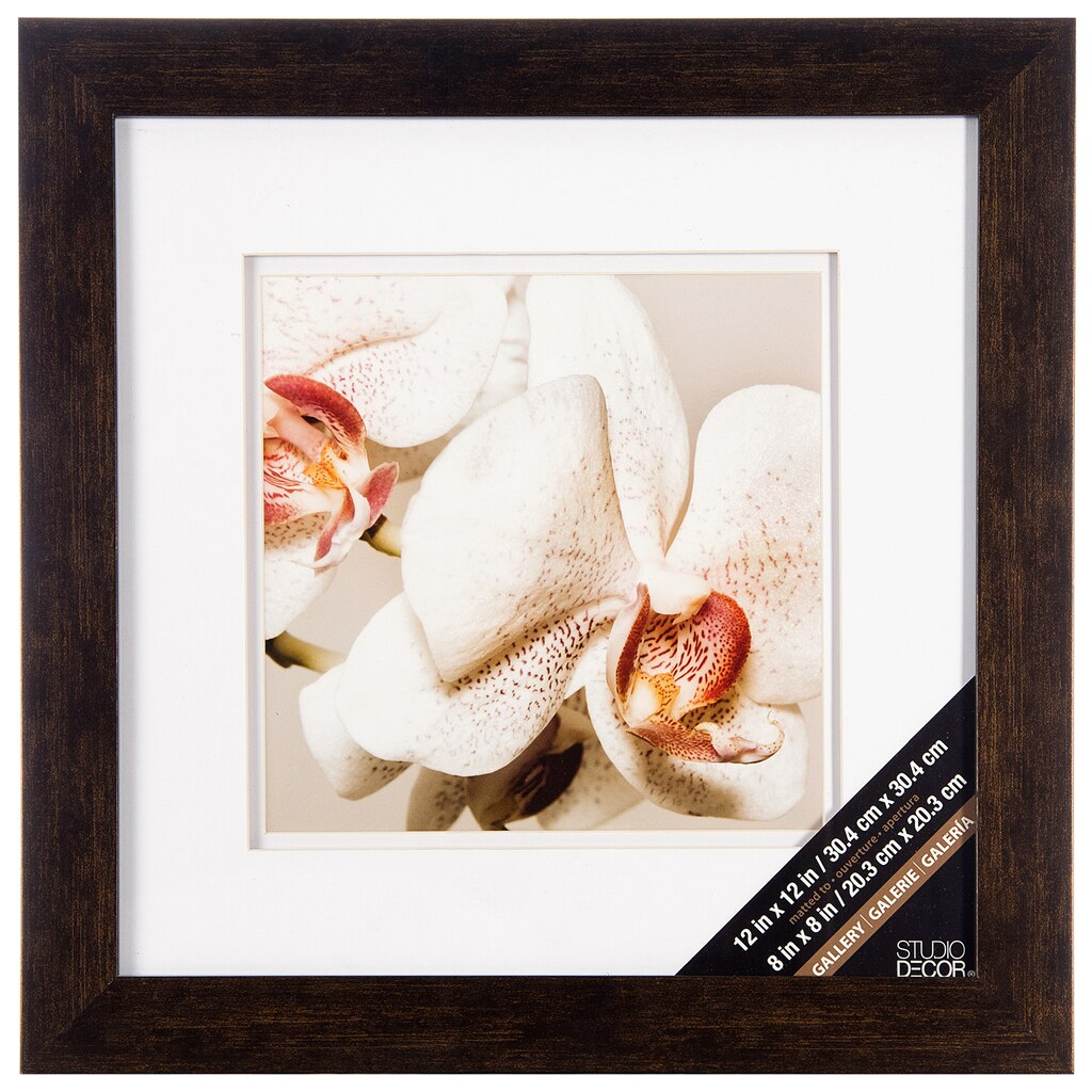 Buy the Bronze & White Gallery Frame By Studio Décor® at Michaels
